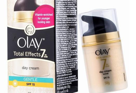 Olay Total Effects 7-in-1 Day Cream Gentle Skin SPF 15 50g