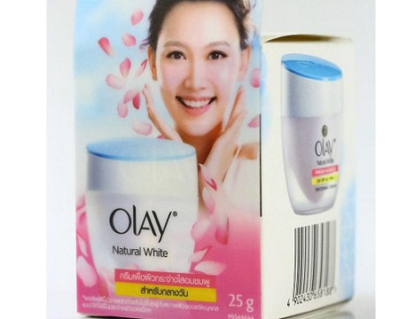 Olay Natural White All-in-One Pinkish Fairness Whitening Cream : 25g