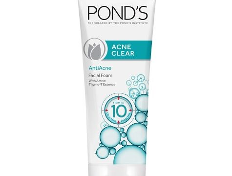 Pond's Acne Clear Anti Acne Facial Foam 100g